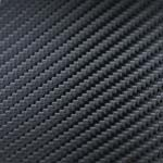 Carbon fibre vinyl sample