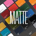 1080 matte vinyl in various colors